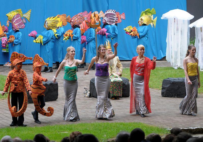 Saison 2009 – Die kleine Meerjungfrau