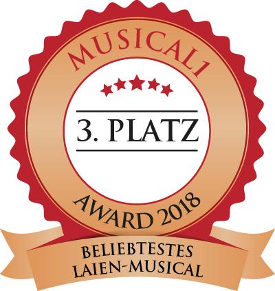 Beliebtestes Laien Musical Platz 3