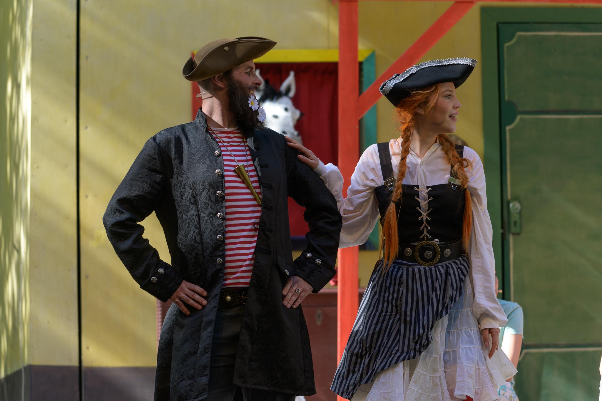 Pippi und Kapitän Langstrumpf (Josefine Becker und Dominik Scholz)2